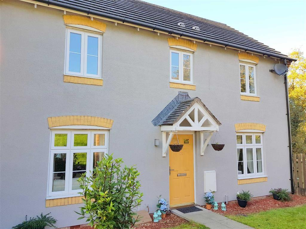 4 Bedrooms Semi Detached House for sale in Tir Y Farchnad, Gowerton, Swansea