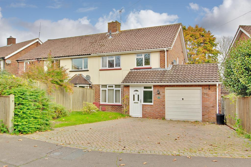 3 Bedrooms Semi Detached House for sale in CALMORE, TOTTON - GUIDE PRICE: 225,000 - 250,000 FEES*