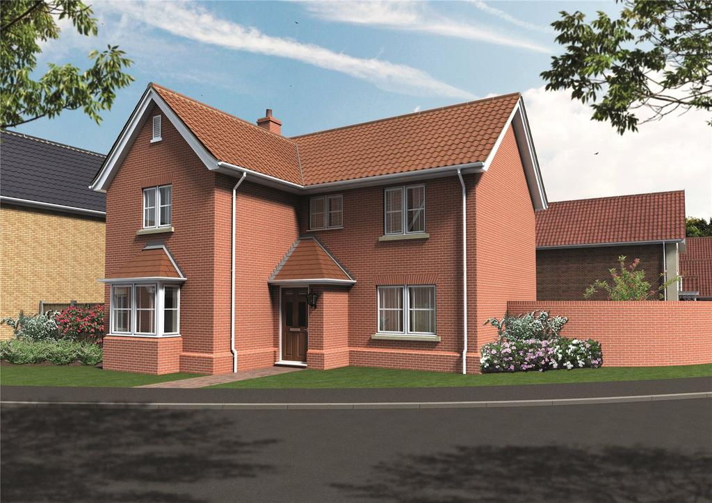4 Bedrooms House for sale in Plot 7 Newstead Gardens, Yarmouth Road, Blofield, Norwich, NR13