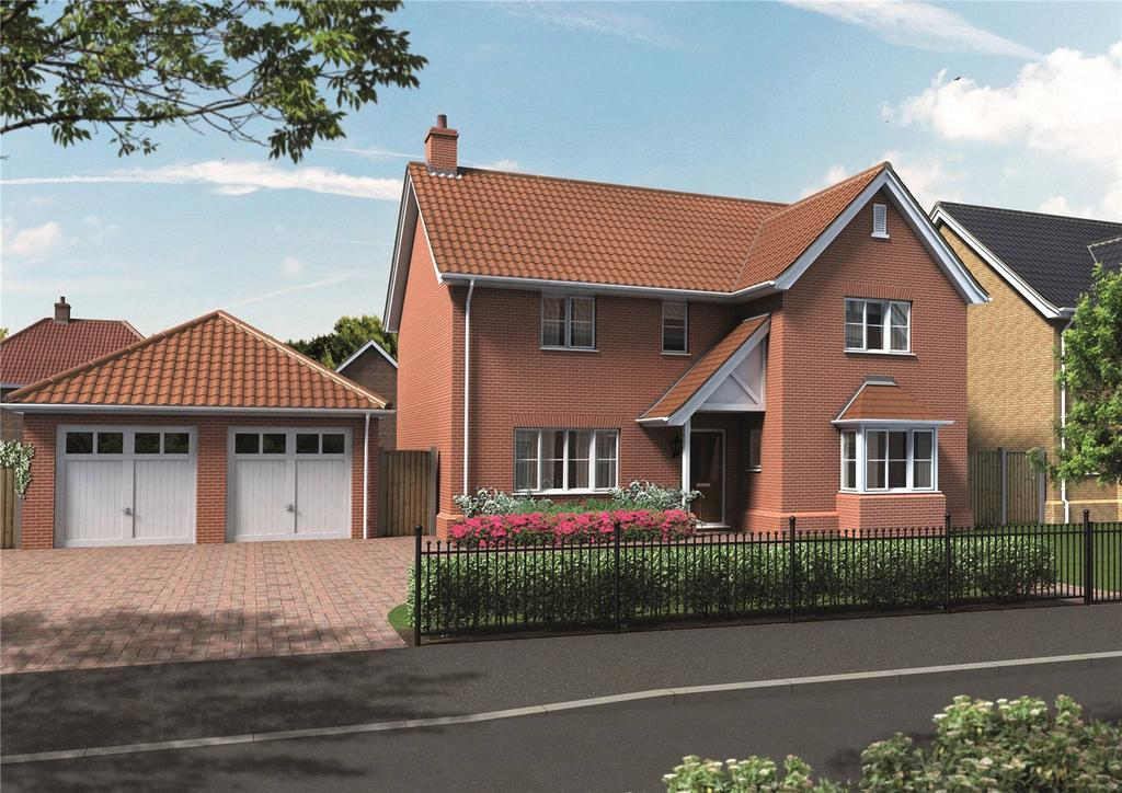 4 Bedrooms House for sale in Plot 5 Newstead Gardens, Yarmouth Road, Blofield, Norwich, NR13