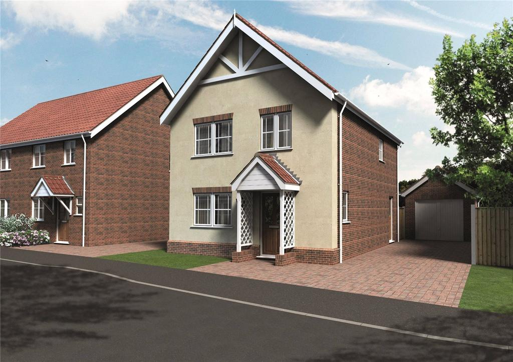 4 Bedrooms House for sale in Plot 6 Newstead Gardens, Yarmouth Road, Blofield, Norwich, NR13