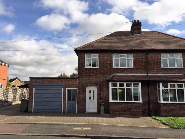 3 Bedrooms Semi Detached House for sale in Elmhurst Avenue, Melton Mowbray, LE13