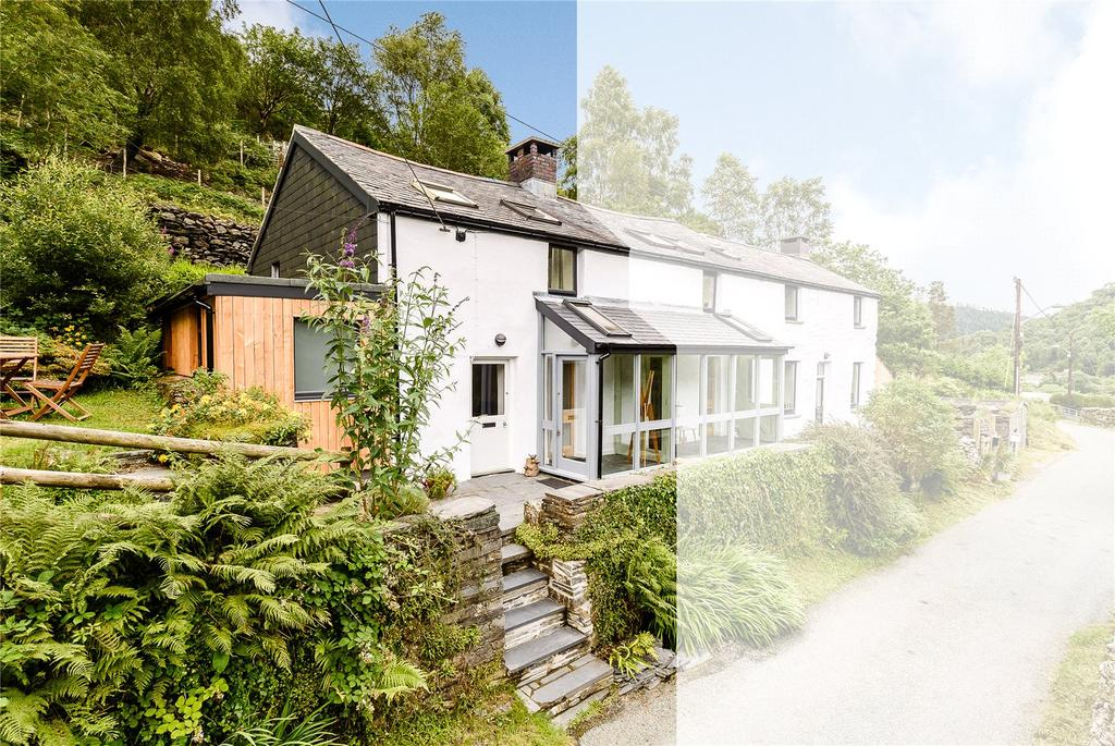 2 Bedrooms Semi Detached House for sale in Penrhos Cottages, Corris, Machynlleth, Gwynedd