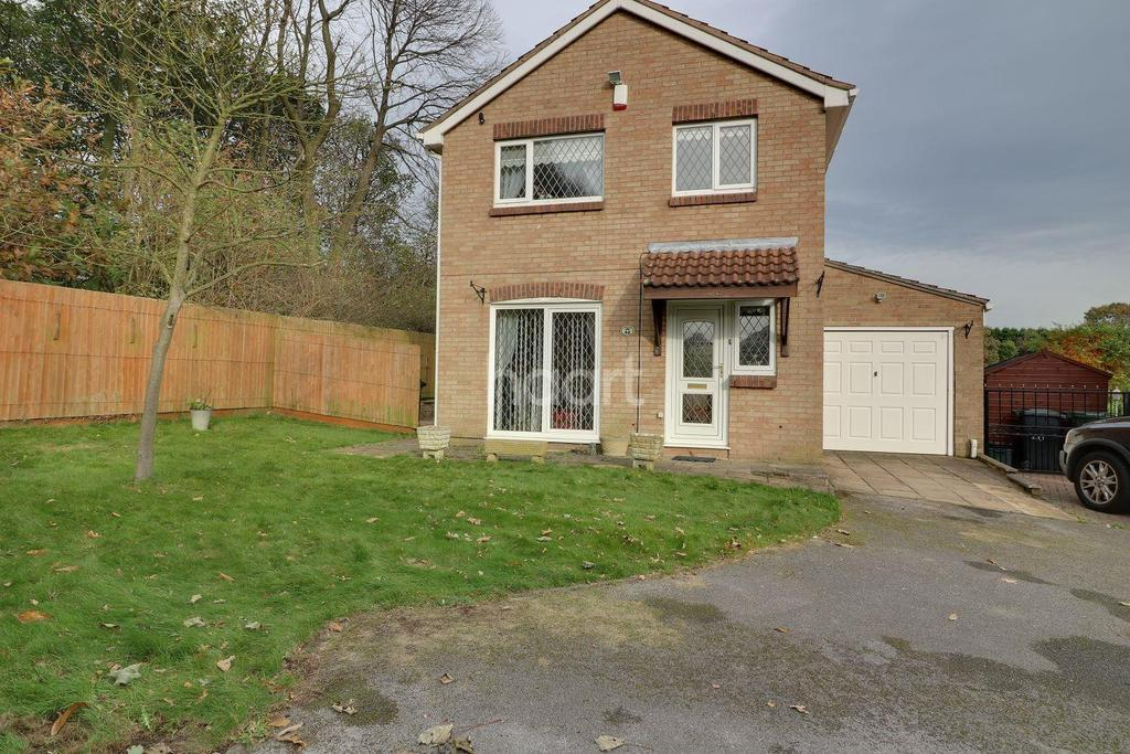 4 Bedrooms Detached House for sale in Ludgate Close, Warren Wood, Nottingham