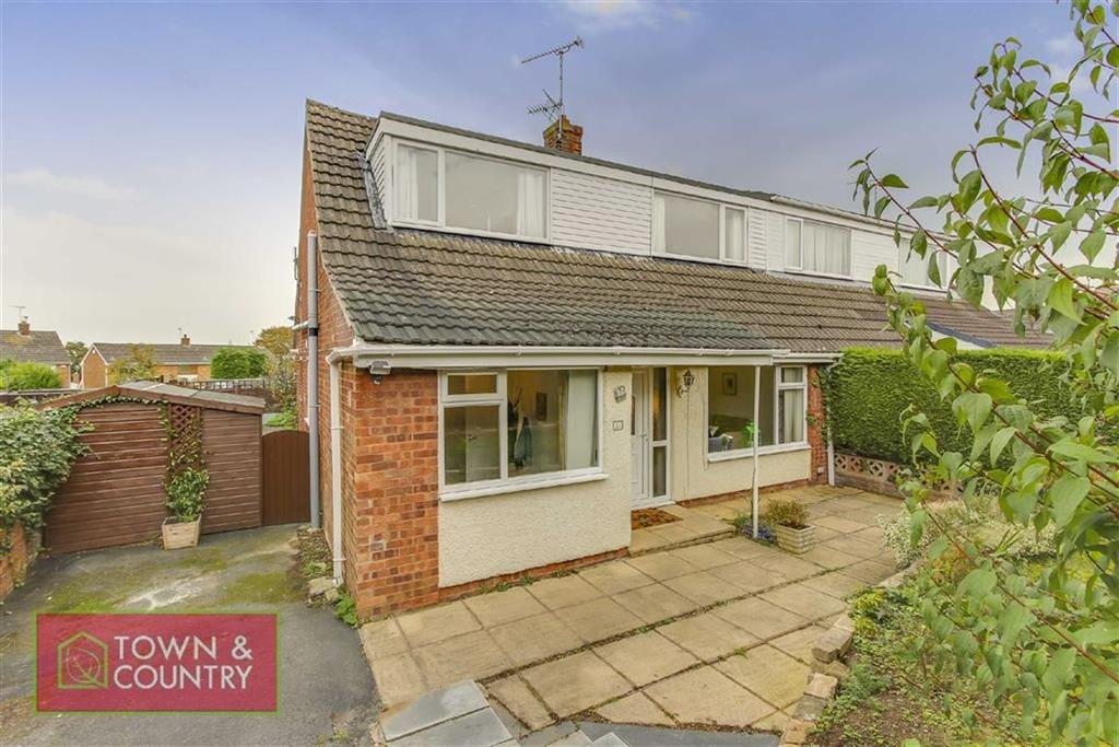 3 Bedrooms Semi Detached House for sale in Kingston Drive, Connah's Quay, Deeside, Flintshire