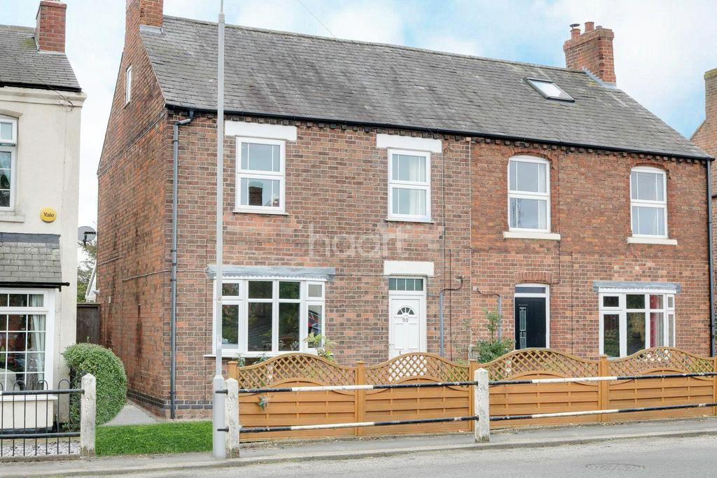 4 Bedrooms Semi Detached House for sale in Nottingham Road, Gotham, Nottingham