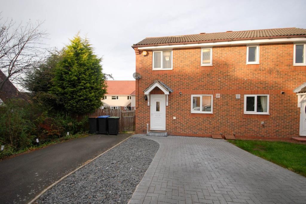 2 Bedrooms Semi Detached House for sale in Iris Crescent, Ouston