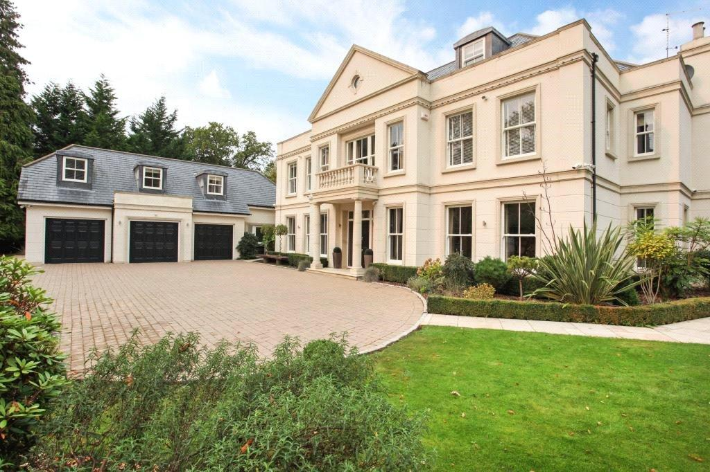 5 Bedrooms Detached House for sale in Gorse Hill Road, Wentworth, Virginia Water, Surrey, GU25