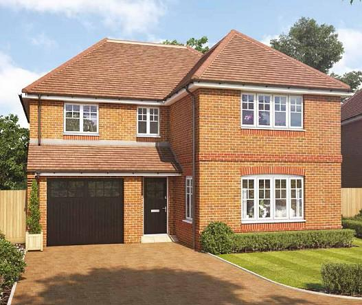 4 Bedrooms Detached House for sale in Montague Green, Whichers Gate Road, Rowlands Castle, PO9