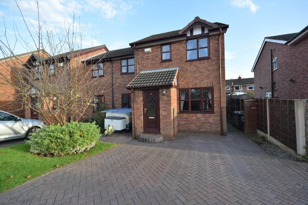 4 Bedrooms Semi Detached House for sale in Pochard Drive, Poynton