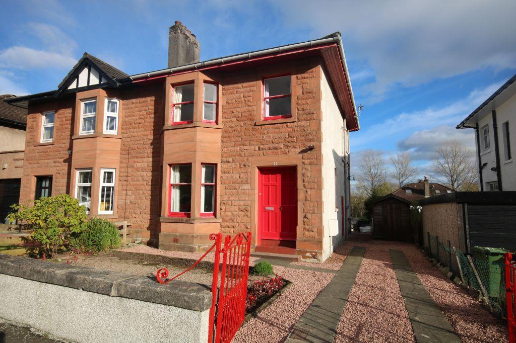 3 Bedrooms Villa House for sale in 11 Burnbrae Avenue, Bearsden, Glasgow, G61 3ER