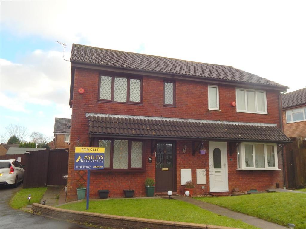 3 Bedrooms Semi Detached House for sale in Delfan, Llangyfelach, Swansea