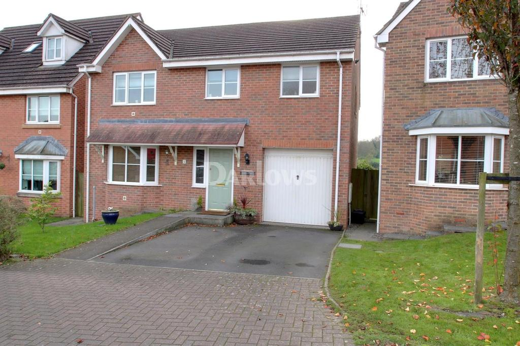 4 Bedrooms Detached House for sale in Wentloog Rise, Castleton, Cardiff