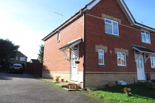 2 Bedrooms Semi Detached House for sale in Touraine Close, Duston, NN5