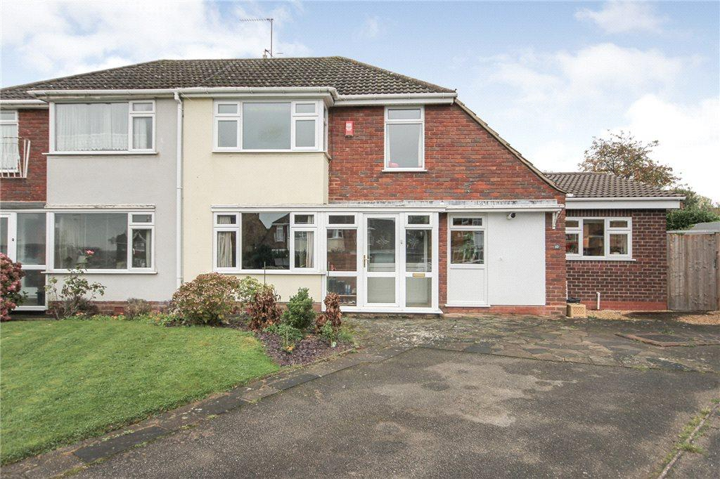 3 Bedrooms Semi Detached House for sale in Bank Farm Close, Pedmore, Stourbridge, DY9