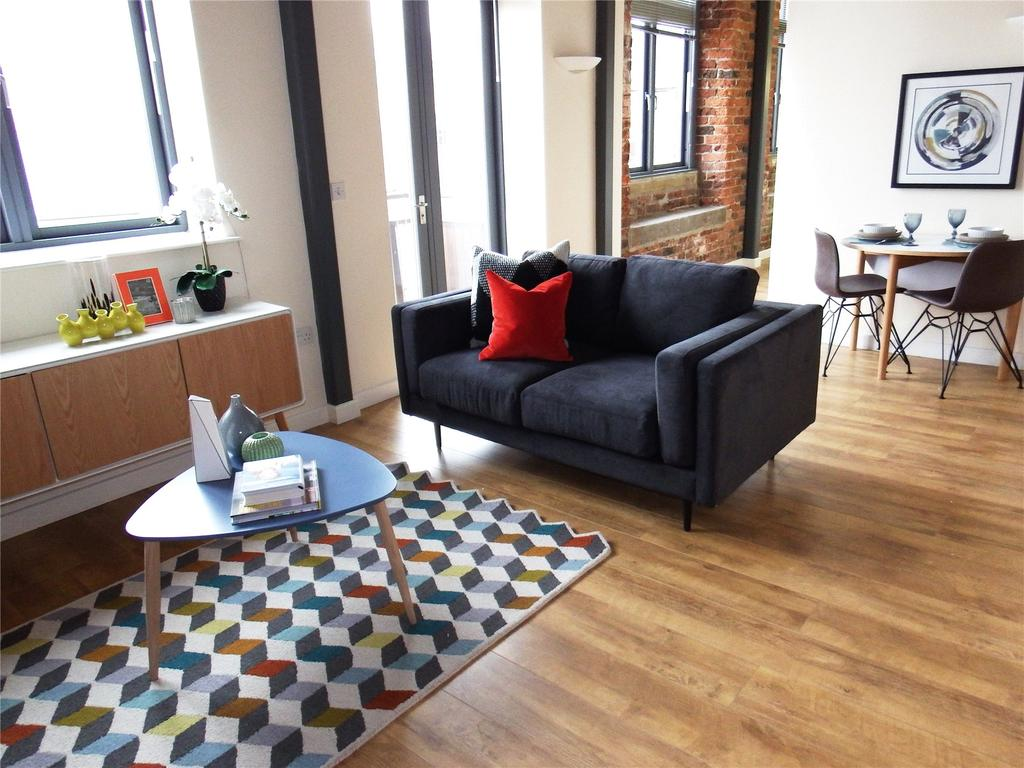 1 Bedroom Flat for sale in Worsted House, East Street Mills, East Street, Leeds, West Yorkshire, LS9
