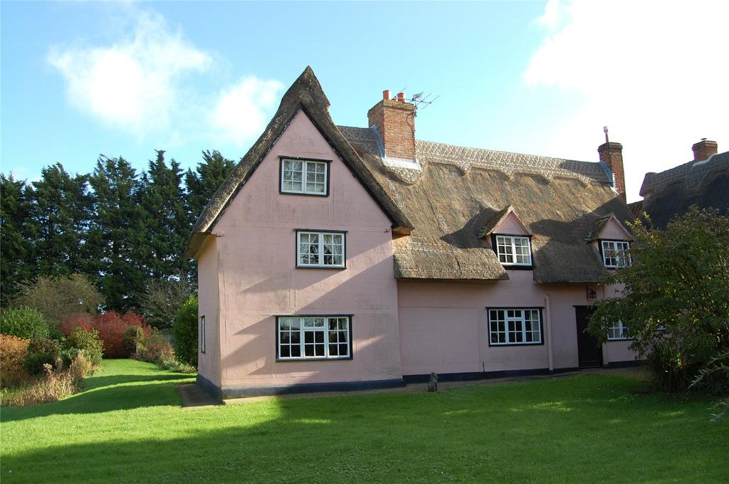 4 Bedrooms Detached House for sale in Edmunds Hill, Stradishall, Nr Clare, Suffolk, CB8