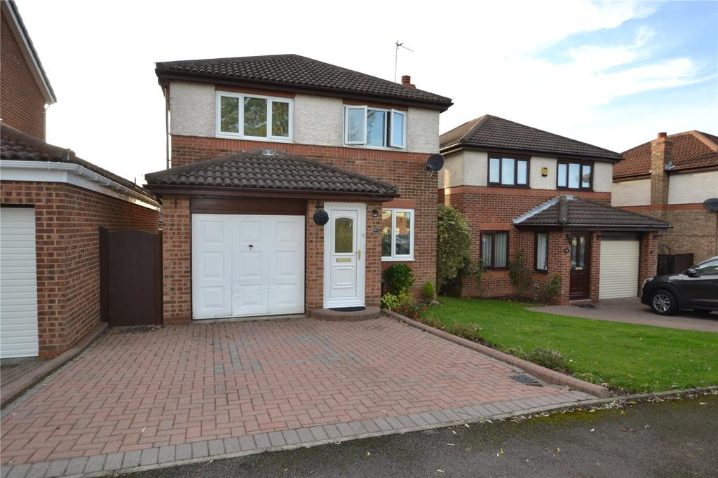 3 Bedrooms Detached House for sale in Brougham Court, Peterlee, Co.Durham, SR8