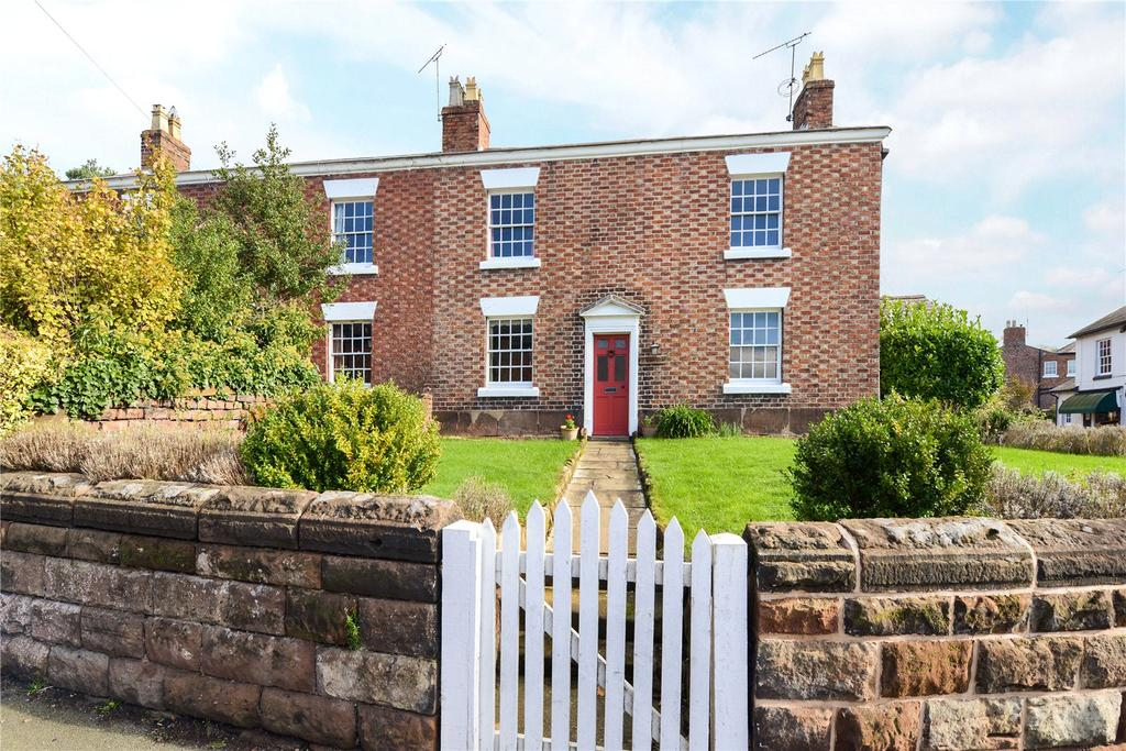 4 Bedrooms Semi Detached House for sale in 2 Rose Bank, High Street, Tattenhall, Chester, CH3