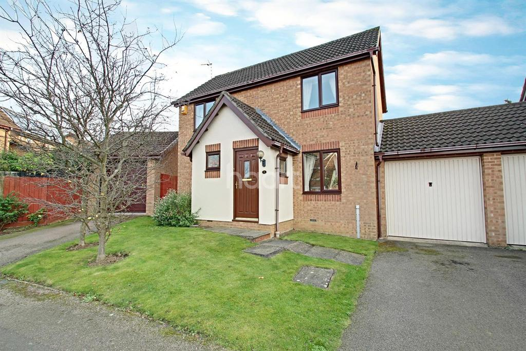 3 Bedrooms Detached House for sale in Elmtree Close, Hamilton, Leicester