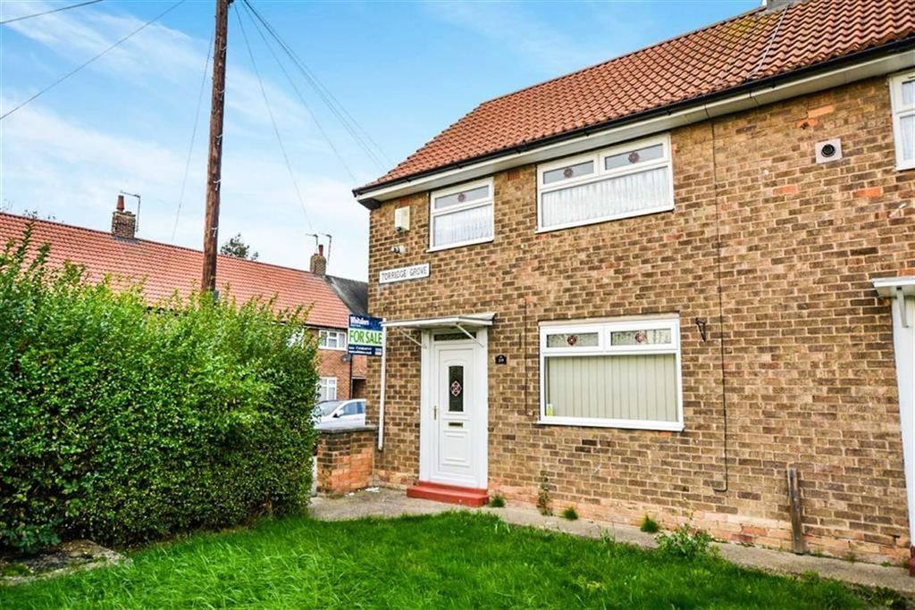 2 Bedrooms End Of Terrace House for sale in Torridge Grove, Longhill, Hull, HU8