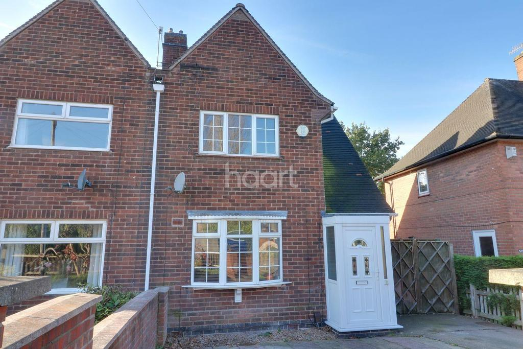 2 Bedrooms Semi Detached House for sale in Andover Road, Bestwood, Nottingham