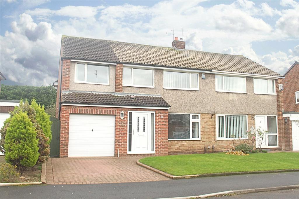 5 Bedrooms Semi Detached House for sale in Emsworth Drive, Eaglescliffe