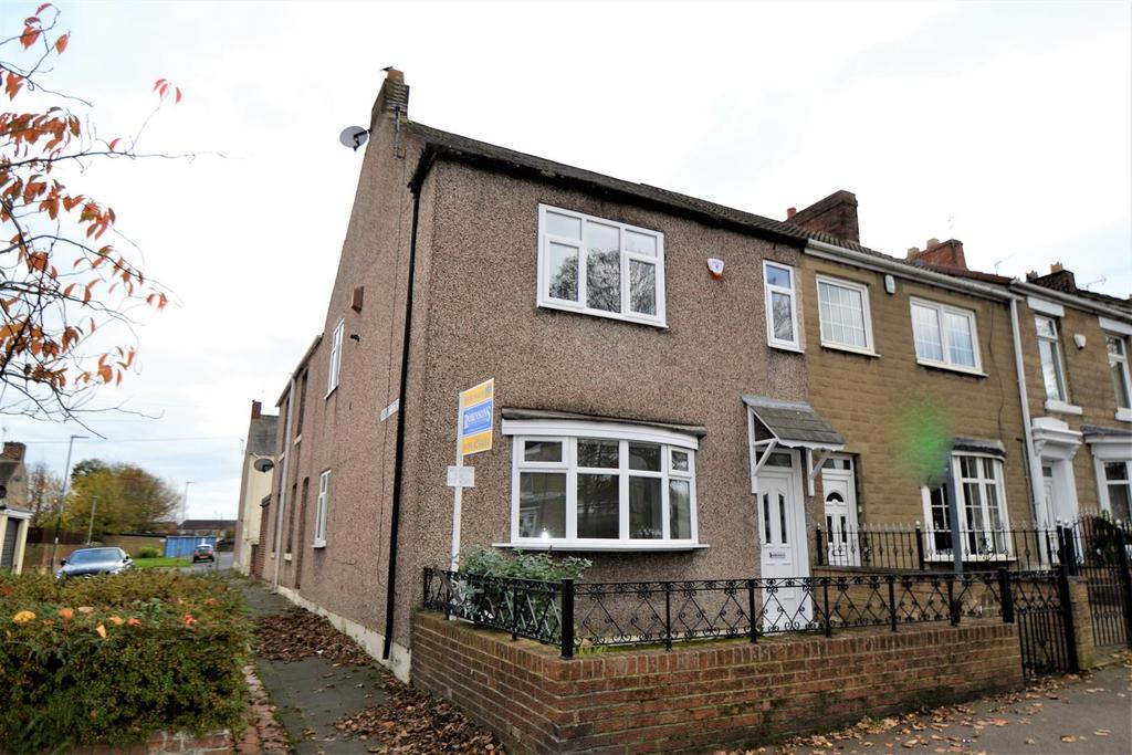 3 Bedrooms End Of Terrace House for sale in Clyde Terrace, Spennymoor