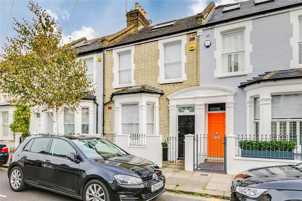 4 Bedrooms Terraced House for sale in Burnthwaite Road, Fulham