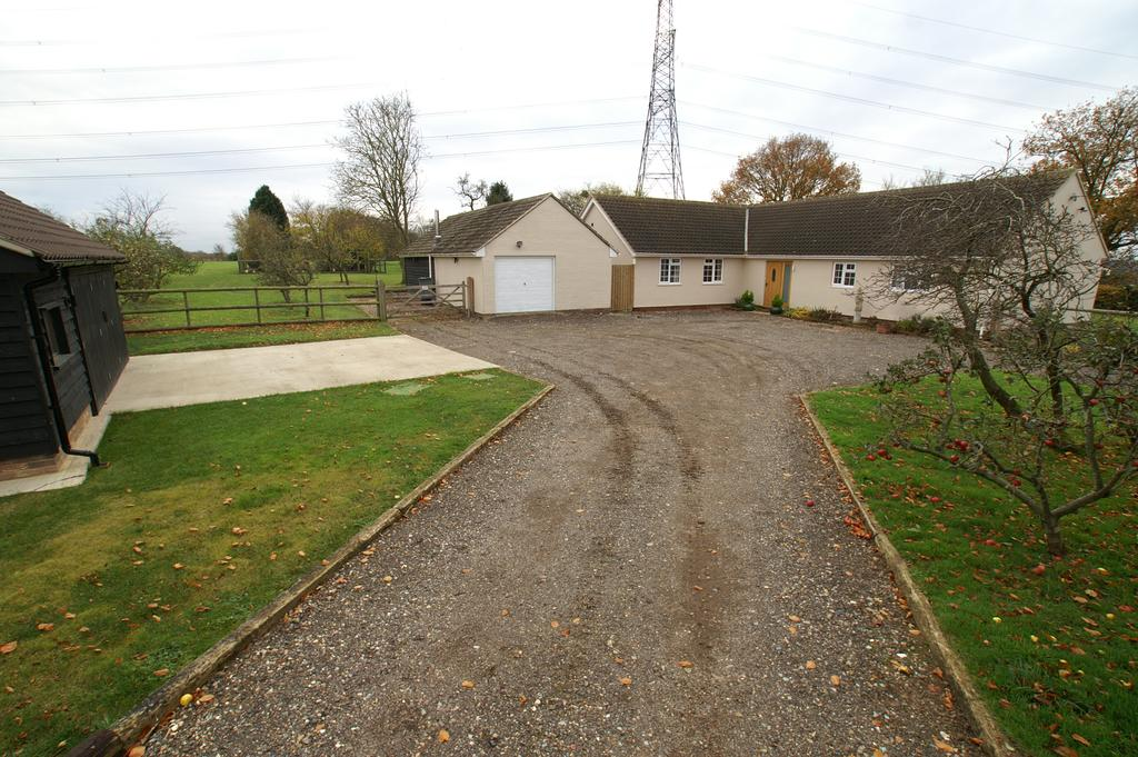 4 Bedrooms Detached Bungalow for sale in Slough Lane, Little Cornard, Sudbury CO10