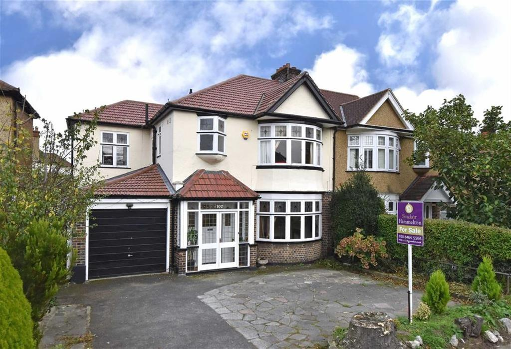 4 Bedrooms Semi Detached House for sale in Murray Avenue, Bromley, Kent