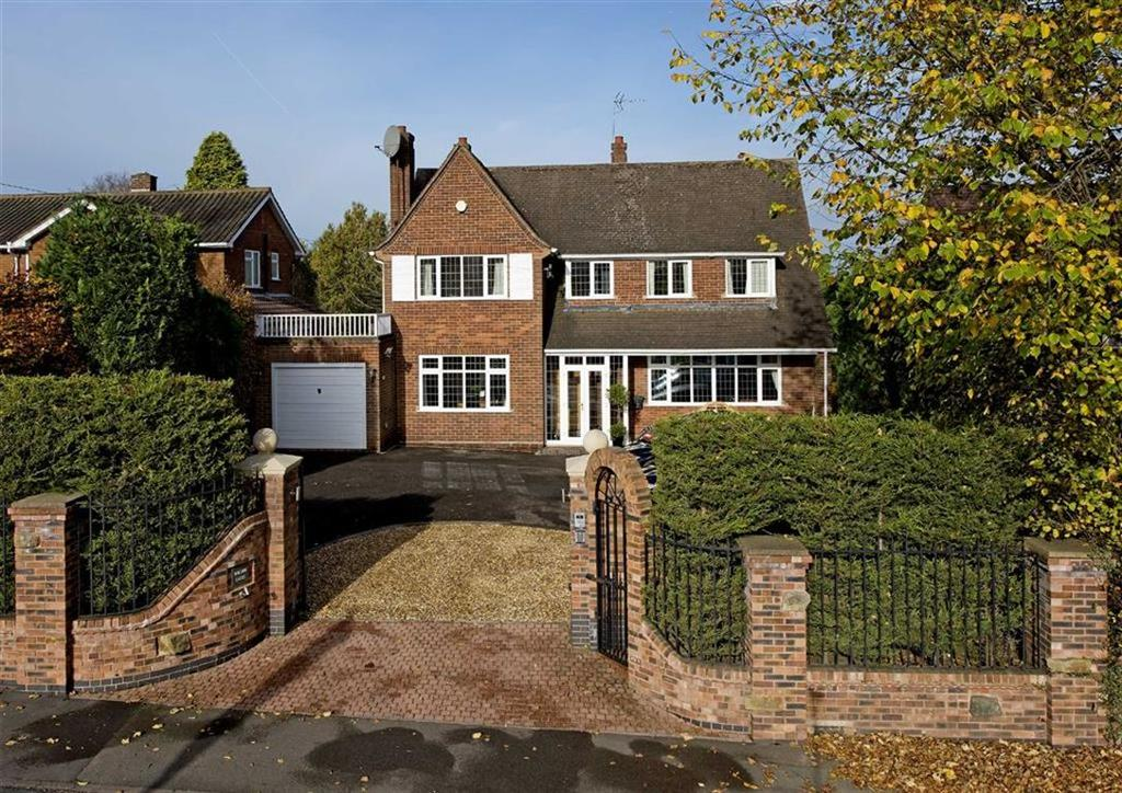 5 Bedrooms Detached House for sale in Willow Gates, 48, Mount Road, Tettenhall Wood, Wolverhampton, West Midlands, WV6