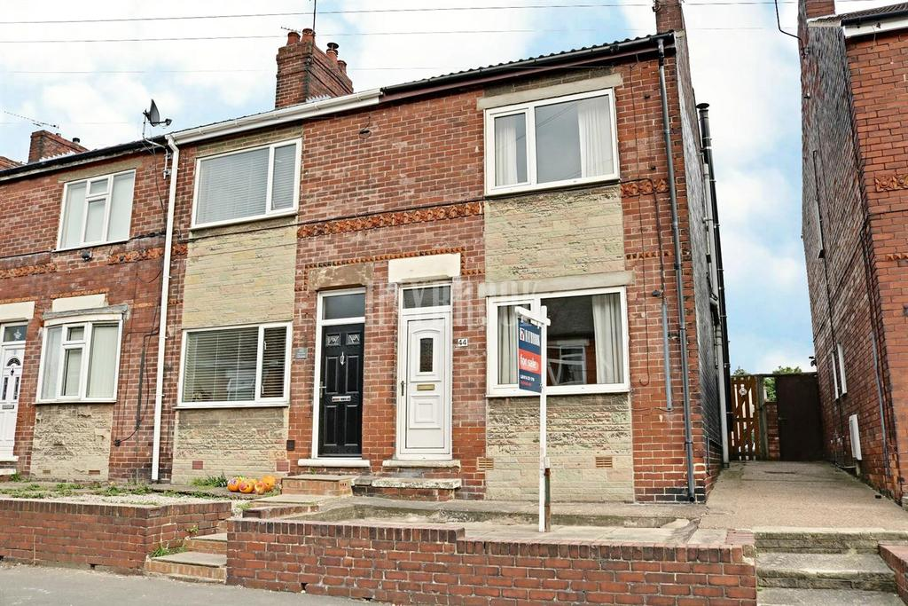 3 Bedrooms End Of Terrace House for sale in Wesley Road, Kiveton Park