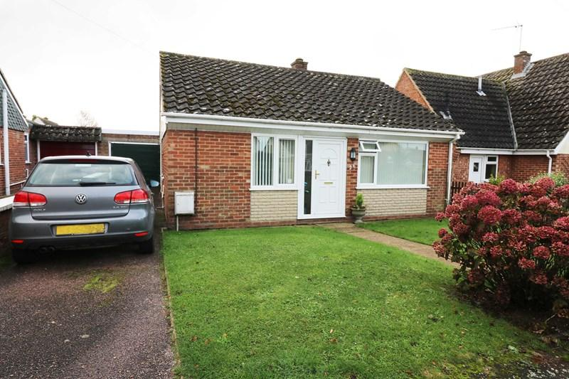 3 Bedrooms Detached Bungalow for sale in Hubbard Close, Wymondham