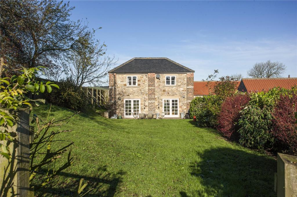 4 Bedrooms Semi Detached House for sale in East Pethrow Farm, Wigglesworth, Cockfield, Bishop Auckland, DL13