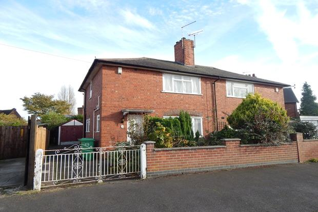 3 Bedrooms Semi Detached House for sale in Joyce Avenue, Sherwood, Nottingham, NG5