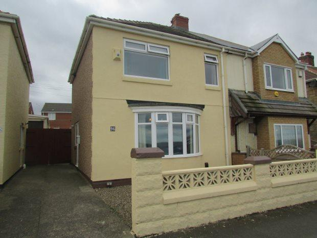 3 Bedrooms Semi Detached House for sale in MARINE DRIVE, HEADLAND, HARTLEPOOL
