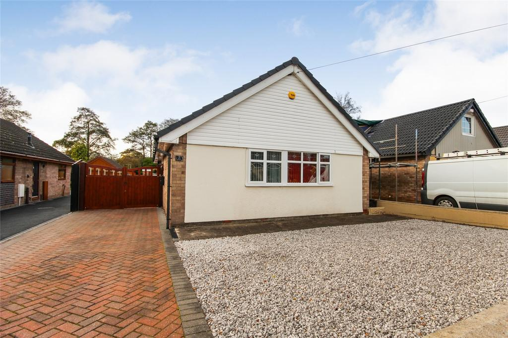 2 Bedrooms Detached Bungalow for sale in East Bank Ride, Forsbrook, Staffordshire
