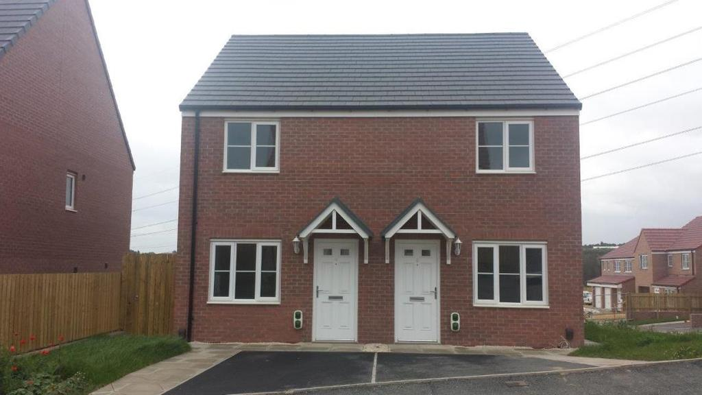 2 Bedrooms Semi Detached House for sale in THE BRAMPTON, LINDALE PARK, ALVERTHROPE WF2 0AN
