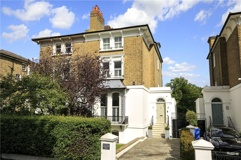 4 Bedrooms Semi Detached House for sale in Grove Park Road, Chiswick, London, W4