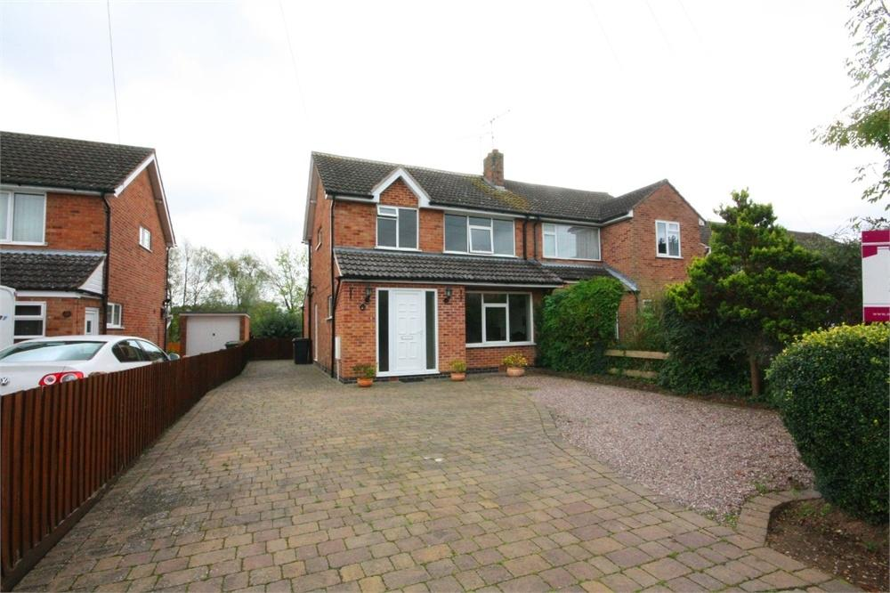 3 Bedrooms Semi Detached House for sale in 80 Ferneley Crescent, MELTON MOWBRAY