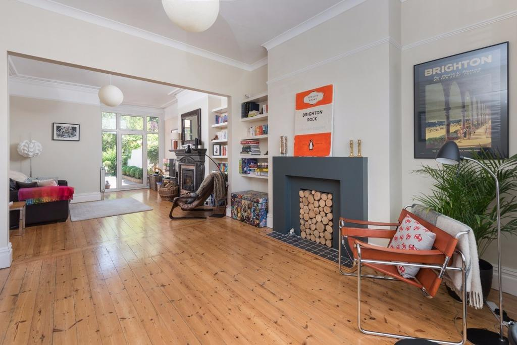 4 Bedrooms Terraced House for sale in Walsingham Road Hove East Sussex BN3