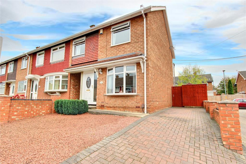 3 Bedrooms End Of Terrace House for sale in Kesteven Road, Easterside