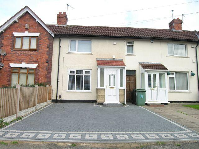 3 Bedrooms Terraced House for sale in Holford Avenue,Walsall,West Midlands