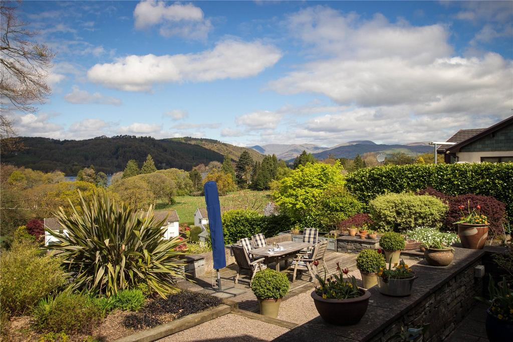 4 Bedrooms Detached House for sale in Storrs Hill Lane, Storrs Park, Bowness-On-Windermere, Cumbria