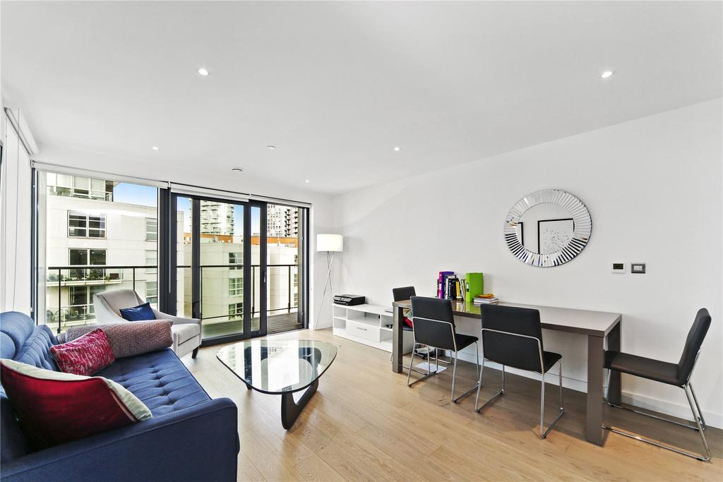 2 Bedrooms Flat for sale in Horizons, Yabsley Street, London, E14