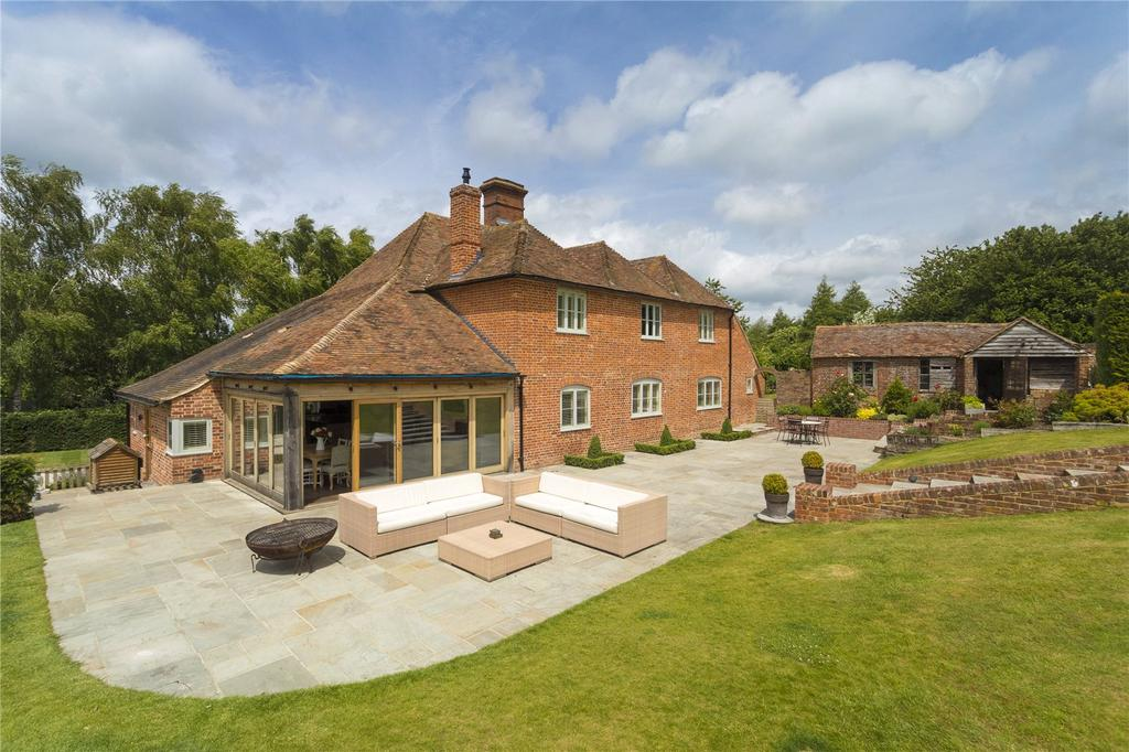 5 Bedrooms Detached House for sale in Pope Street, Godmersham, Canterbury, Kent