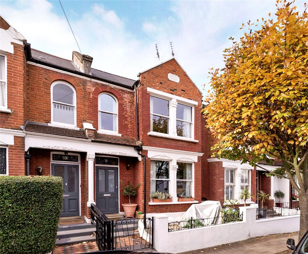4 Bedrooms Terraced House for sale in Mexfield Road, Putney, London, SW15