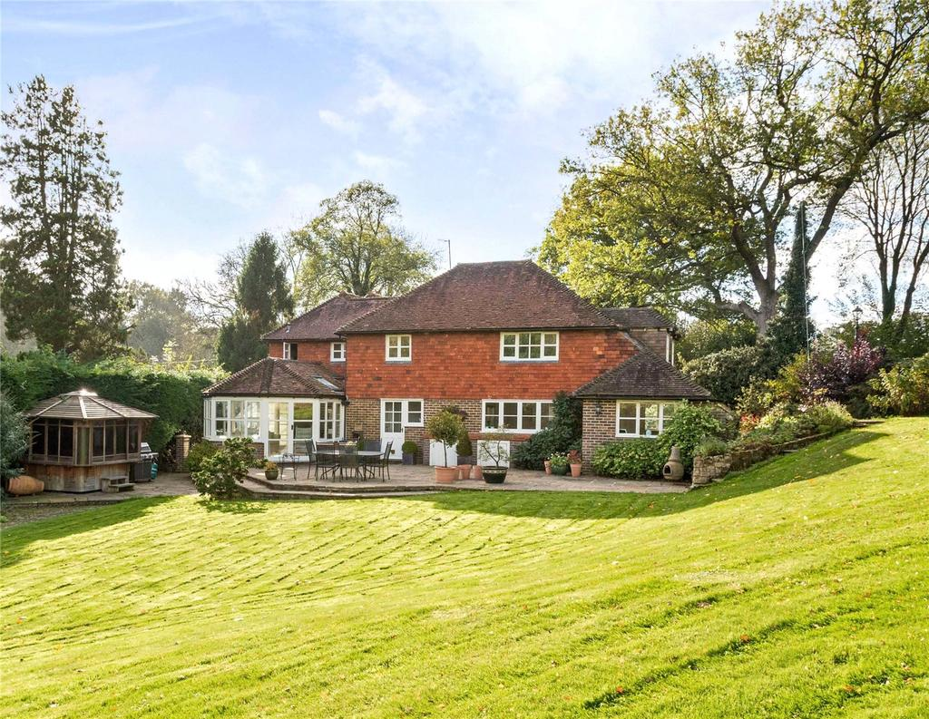 4 Bedrooms Detached House for sale in Hartfield Road, Cowden, Edenbridge, Kent, TN8