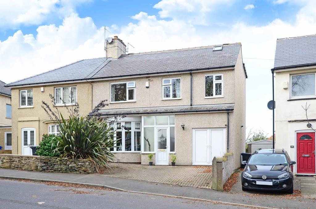 4 Bedrooms Semi Detached House for sale in Sandygate Road, Crosspool, Sheffield, S10 5RZ